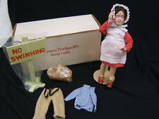 "Danbury Mint Doll ""No Swimming"" 13 1/2"" Height w/Stand MIB"