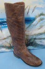Women Knee High Brown Boots Sz 6.5