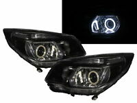 Colorado RG MK2 12-16 SUV/Pickup COB Projector Headlight Black for HOLDEN LHD