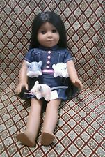 """Chinchilla Pet for 18"""" American Girl like Dolls Accessories Play NEW Grey Silver"""