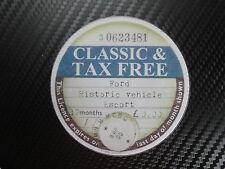 Clásico Ford Escort, Capri, Cortina, Mk 1, 2, 3, libre de impuestos