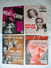 CRIME/NOIR/./U14/ LOT 5 publicity ads