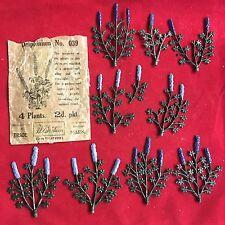 Vintage Delphinium de Gran Bretaña Nº 039 Pre Guerra temprano de papel Paquete 8 plantas