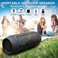 Mini Bluetooth Speaker Wireless Outdoor Stereo Bass Loudspeaker USB TF FM Radio