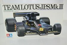 KIT 1/20 TAMIYA TEAM LOTUS J.P.S. MK.III NO.20004 BAUSATZ MAQUETTE 1978