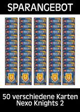 LEGO Nexo Knights 2 - Trading Cards - 50 verschiedene - Deutsch
