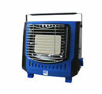 Potable Outdoor Camping Gas Heater Fishing Fan Garden Shed Heat Hiking Stove  UK