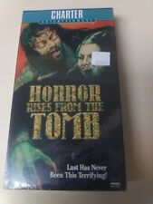HORROR RISES FROM THE TOMB (1972) - Paul Naschy - Unrated - VHS Mint condition
