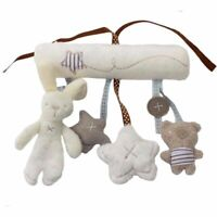 Rabbit Baby Hanging Bed Safety Seat Plush Toy Hand Bell Multifunctional Casual