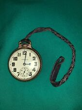 Watch Works Runs Leather Strap New listing