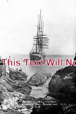 DE 326 - Herzogin Cecilie, Shipwreck, Starehole Bay, Salcombe, Devon 1936