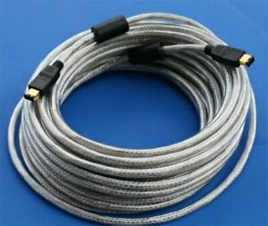 10M 30ft Firewire IEEE 1394 6P to 6P Cable 6-6 HDD Digital Camcorder PC MAC DV