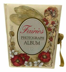 Fairies Photograph Album Hardcover Illustrated by Joy Scherger 1997 Vintage