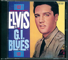 Elvis PRESLEY-G.I. BLUES CD JAPAN r32p 1056 OBI