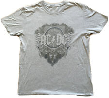 Official T Shirt ACDC AC/DC Classic BLACK ICE Distressed Logo - Size XL -Washed