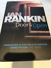 IAN RANKIN DOORS OPEN 1ST UK EDITION ORION 2008 NEW HARDBACK BOOK