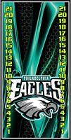 Philadelphia Eagles 039 custom cornhole scoreboard with clips Made in the USA