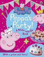 Peppa Pig: Peppa's Party by , Acceptable Used Book (Paperback) FREE & FAST Deliv