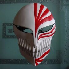 High Quality-Bleach Ichigo Kurosaki Full Hollow Mask Halloween Cosplay Prop