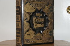 """Antique Holy Bible """"1882"""" A Complete Concordance Old & New Testament Dictionary"""