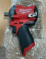 M12 FUEL 12-Volt Lithium-Ion Brushless Cordless Stubby 1/2 in. Impact Wrench