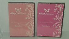 Flirty Girl Fitness,TheTeaser Collection Chair Dance & Booty Beat Dvd Set.New