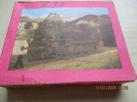 Reichsbahn Dampflock DDR Puzzle Annaberger Puzzle  VEB