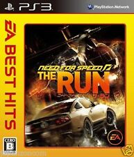 Used PS3   Need for Speed The Run SONY PLAYSTATION 3 JAPAN JAPANESE IMPORT