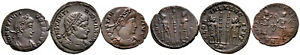Group of 3 Roman Ae3 Folles #RB 7861