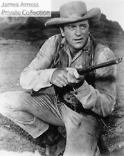 "James Arness Private Collection Gunsmoke ""Kneeling With Rifle""  8 x 10  Photo"