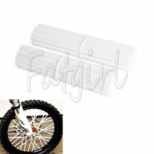"72X 19-21"" Wheel Spoke Wraps Skins Coat Trim Cover Pipe Motocross Pit Dirt Bike"