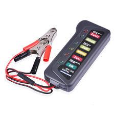 12V 6 LED Auto Batterie Tester Lichtmaschine Ladegerät für Automotive Motorrad