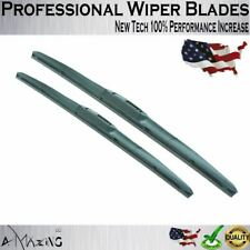 "Top OEM Quality Windshield Wiper Blades Wiper Replacement 16"" + 16"""