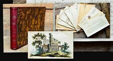 1817-25 Stammbuch Biedermeier-Kassette Freundschafts-Album Crimmitschau  Meissen