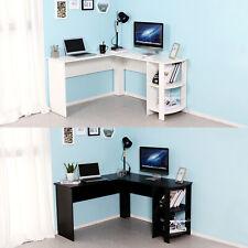 Corner Computer Desk L-shaped PC Table Workstation Home Office Study Furniture