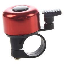HU Sonnette de guidon de velo Bell Ring en aluminium - rouge