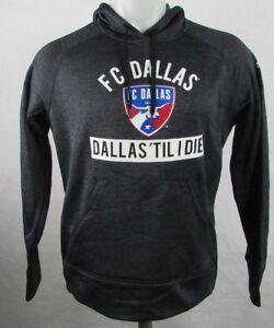 FC Dallas Soccer MLS Adidas Women's Pullover Hoodie Sweatshirt