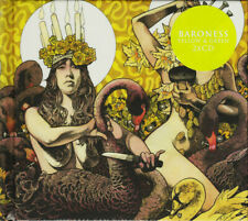 Baroness - Yellow & Green Deluxe Digipack 2 CD - SEALED Prog Stoner Metal Album