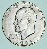 SPECIALLY MINTED S Mint Mark - 1971-S - 40% Eisenhower Silver Dollar