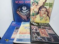 Vintage Sports Programs/Guides Notre Dame World Series NCAA