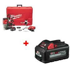 Milwaukee 2788 22hd M18 1 12 Magnetic Drill Kit With Free 48 11 1865 Battery