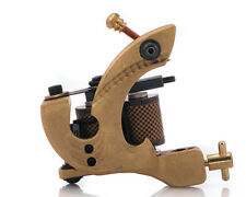 Damascus Series THUNDER (SHADER) 10-Wrap Short Coil Tattoo Machine Steel Supply