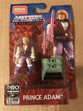 Mega Construx Pro Builders PRINCE ADAM Figure MOTU Masters of the Universe GNV33