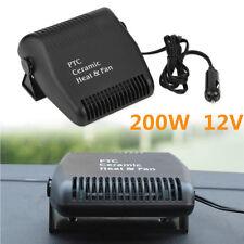 12V Car Portable PTC Ceramic Heater Heating Cooling Heat Fan Defroster Demister