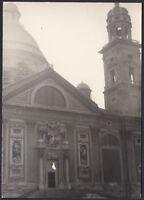YZ1123 Genova - Veduta di un Monumento - Fotografia d'epoca - 1959 vintage photo