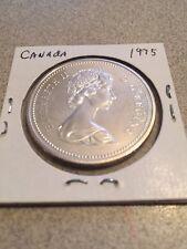 Canada 1975 Dollar   50% Silver