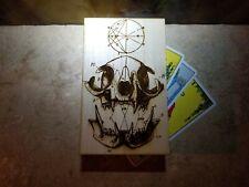 Cat Skull Tarot Card Deck Storage Box Rider Waite