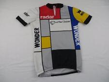 Used Flaws Mens Greg Lemond La Vie Claire Radar Pro Bike Cycling Jersey Sz XS S