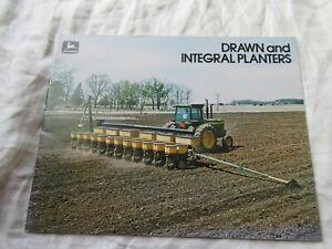 John Deere planters brochure