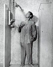 1955 Original Photo male hunk fashion model in orlon synthetic seersucker suit